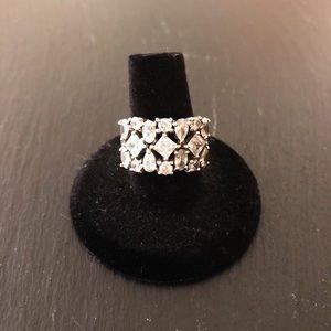 Silpada CZ Cocktail Ring